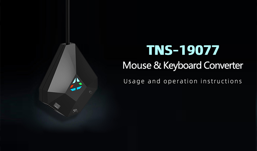 How to use Mouse & Keyboard Converter TNS-19077